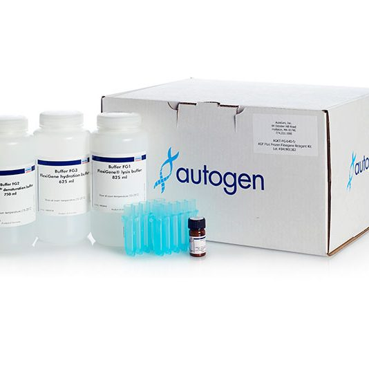 Flexigene kit with tubes